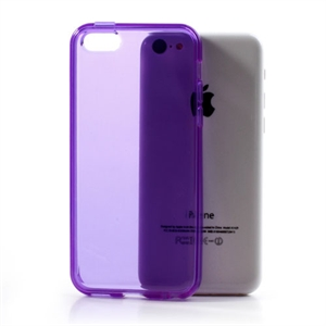 Image of   Apple iPhone 5C TPU Cover - Lilla