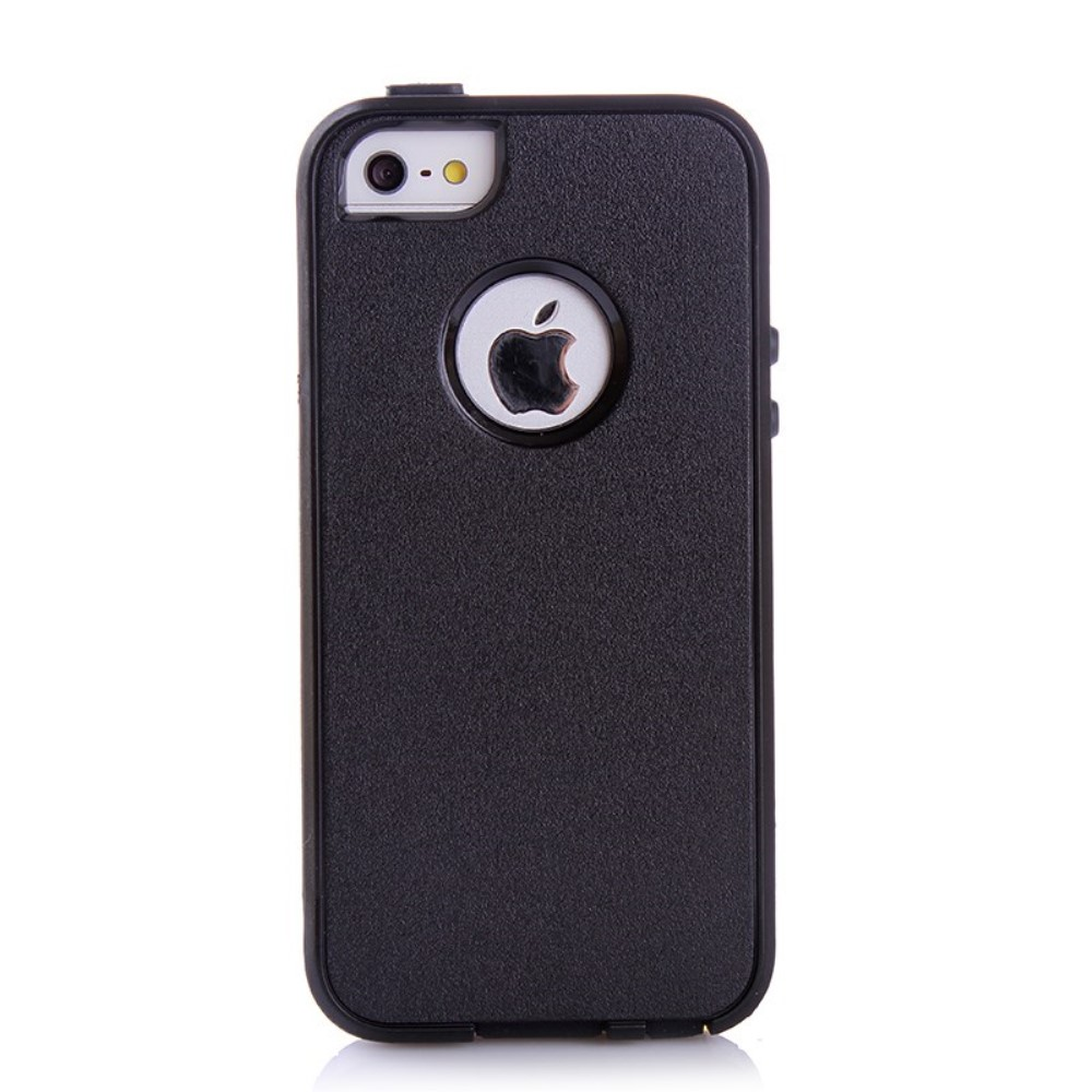 Image of   Apple iPhone 5/5s/SE Dobbelt Anti-drop Cover - Sort