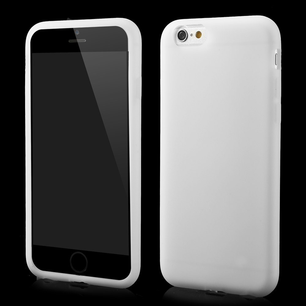 Image of   Apple iPhone 6 / 6s / 7 / 8 / SE (2020) Silikone Cover - Hvid