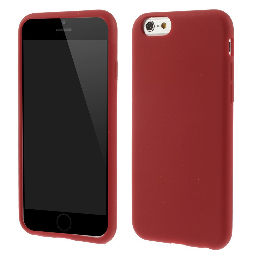 Image of   Apple iPhone 6/6s inCover Silikone Cover - Rød