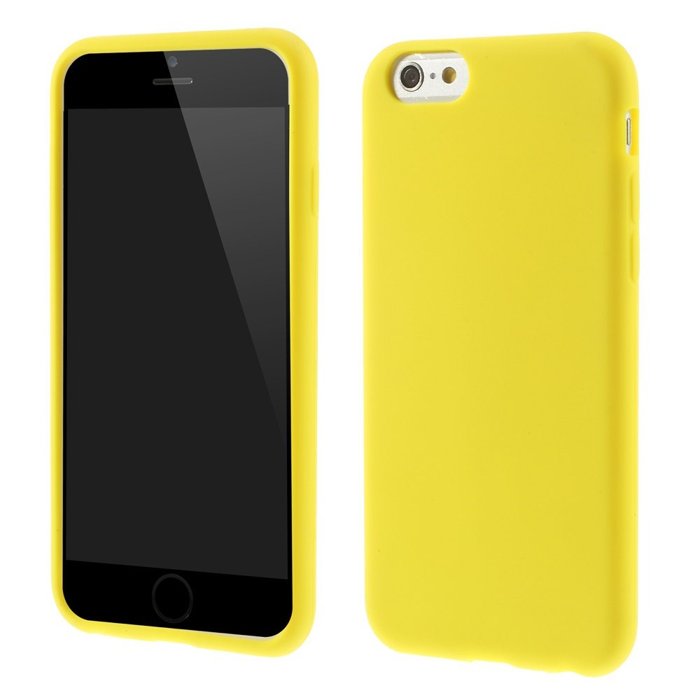 Image of   Apple iPhone 6/6s inCover Silikone Cover - Gul