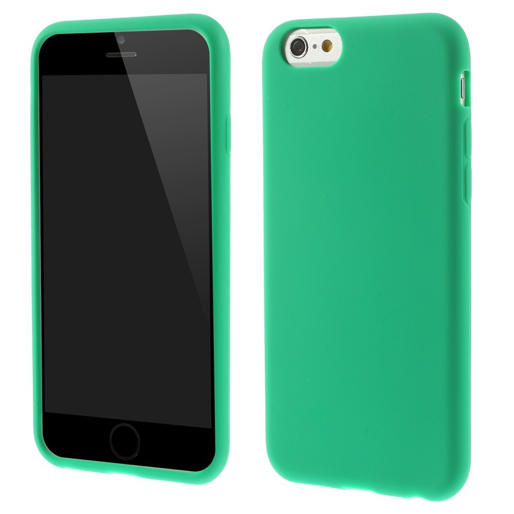 Image of   Apple iPhone 6/6s inCover Silikone Cover - Grøn