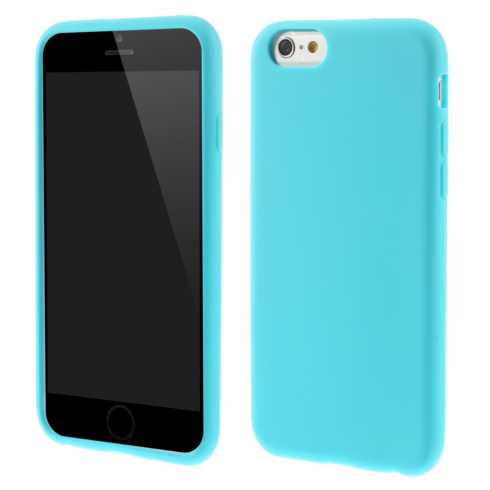 Image of   Apple iPhone 6/6s inCover Silikone Cover - Lys Blå