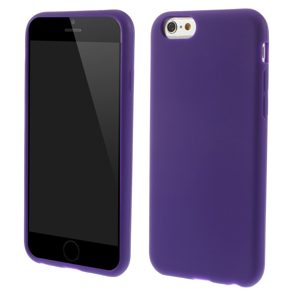 Image of   Apple iPhone 6 / 6s / 7 / 8 / SE (2020) Silikone Cover - Lilla