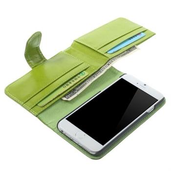 Billede af Apple iPhone 6/6s MultiCard Flip Cover Pung - Grøn