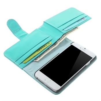 Billede af Apple iPhone 6/6s MultiCard Flip Cover Pung - Lys Blå