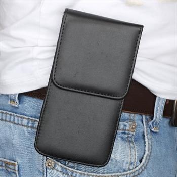 Image of   Apple iPhone 6/6s/7 Etui/Mobiltaske Med Fliplukning - Sort