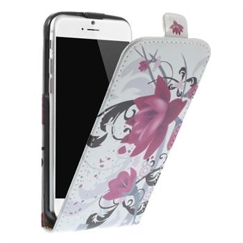 Billede af Apple iPhone 6/6s Design Flip Cover - Lotus Flower