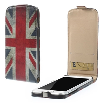 Image of   Apple iPhone 6/6s Design Flip Cover - Union Jack