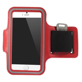 Image of   Apple iPhone 6/6s Sports Armbånd - Rød