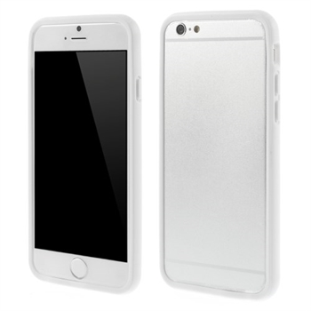 Image of   Apple iPhone 6/6s TPU Bumper Cover - Hvid
