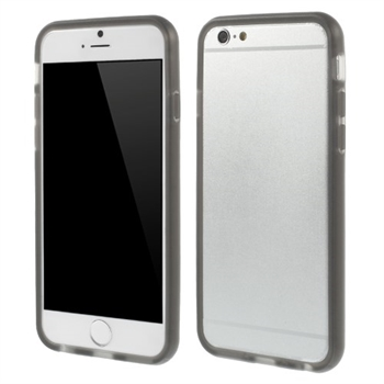 Image of   Apple iPhone 6/6s TPU Bumper Cover - Grå