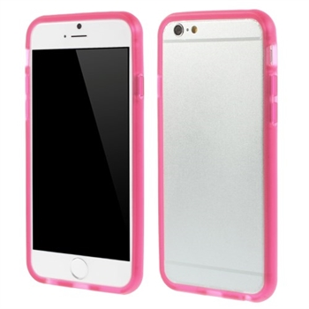 Image of   Apple iPhone 6/6s TPU Bumper Cover - Rosa