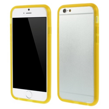 Image of   Apple iPhone 6/6s TPU Bumper Cover - Gul
