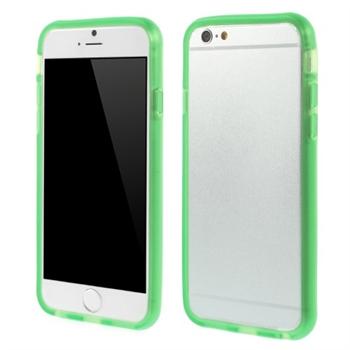 Image of   Apple iPhone 6/6s TPU Bumper Cover - Grøn