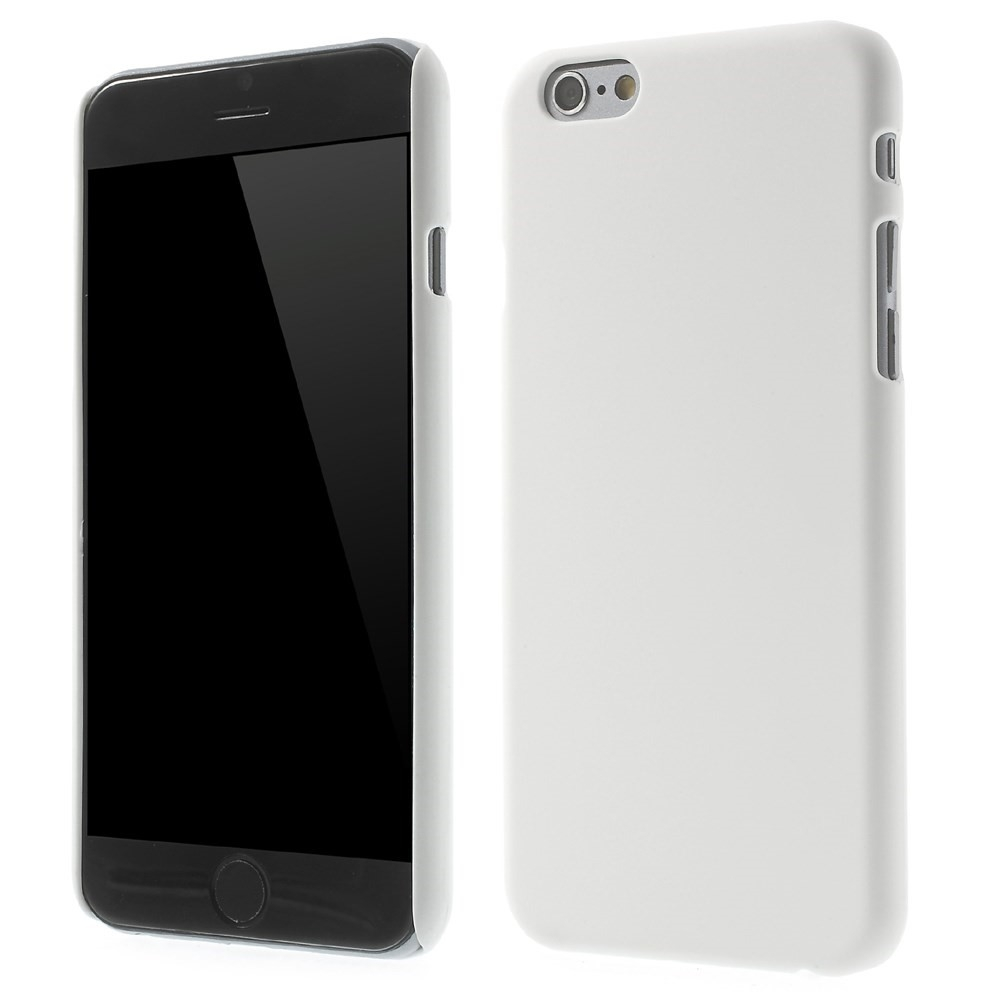 Image of   Apple iPhone 6 / 6s / 7 / 8 / SE (2020) Plastik Cover - Hvid