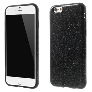 Billede af Apple iPhone 6/6s inCover Design TPU Cover - Glitter Sort