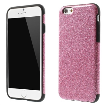 Image of   Apple iPhone 6/6s inCover Design TPU Cover - Glitter Rosa