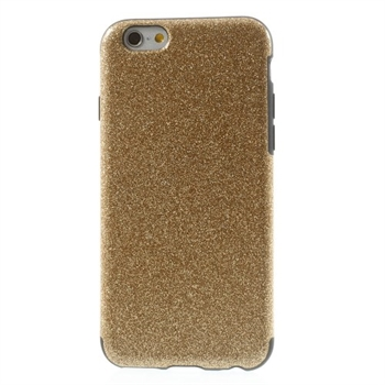 Image of   Apple iPhone 6/6s inCover Design TPU Cover - Glitter Guld