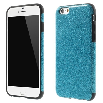 Image of   Apple iPhone 6/6s inCover Design TPU Cover - Glitter Blå