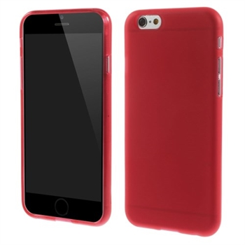 Image of   Apple iPhone 6/6s inCover TPU Cover - Rød