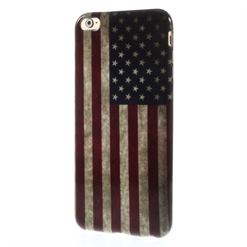 Image of   Apple iPhone 6/6s Plus inCover Design TPU Cover - Stars & Stripes
