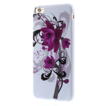 Image of   Apple iPhone 6/6s Plus inCover Design TPU Cover - Lotus Flower