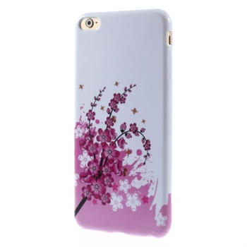 Image of   Apple iPhone 6/6s Plus inCover Design TPU Cover - Plum Blossom