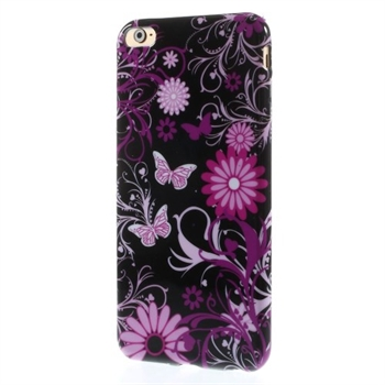 Image of   Apple iPhone 6/6s Plus inCover Design TPU Cover - Butterfly Flowers