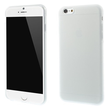 Image of   Apple iPhone 6/6s Plus inCover TPU Cover - Gennemsigtig Hvid