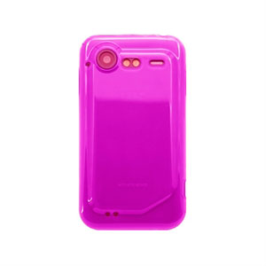 HTC Incredible S TPU cover fra inCover - rosa