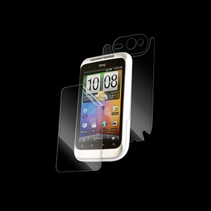 Image of HTC Wildfire S invisible SHIELD MAXIMUM beskyttelse
