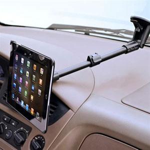 Image of Arkon forlænget iPad 2, 3 og 4 bilholder til forrude