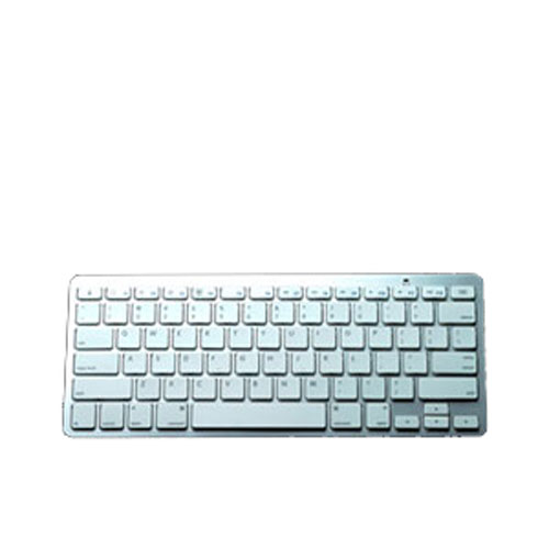 Image of Bluetooth tastatur i aluminium til tablet og smartphone