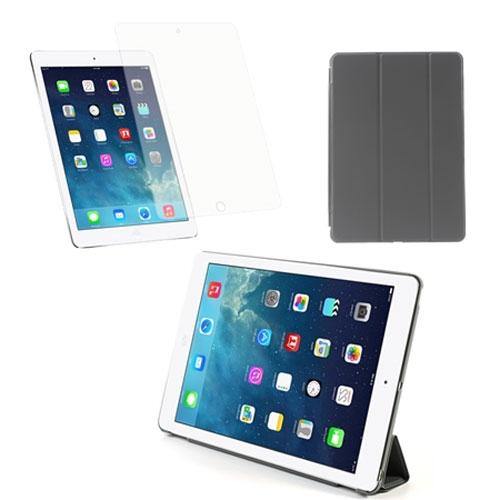 Billede af iPad Air Pakke - Smart Cover & Skærmbeskyttelse - Grå