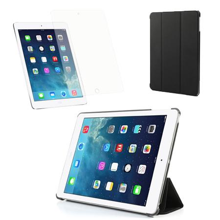 Billede af iPad Air Pakke - Smart Cover & Skærmbeskyttelse - Sort