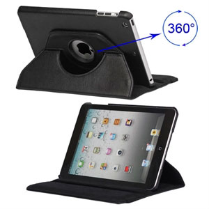 Billede af inCover Rotating Smart Cover Stand til iPad Mini - sort