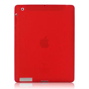 Silikone Cover til Apple iPad 3 og 4 fra inCover - rød