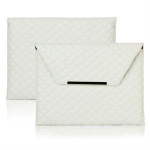 Billede af Grid Magnetic Læder taske/etui til Apple iPad 2, 3 og 4 - hvid