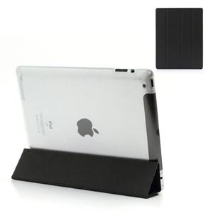 Flip Full Cover Til Apple iPad 3 Og 4 - Sort