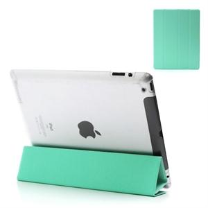 Flip Full Cover Til Apple iPad 3 Og 4 - Blå