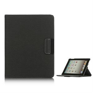 inCover Rotating Smart Cover Stand til iPad 3 og 4 - mørkegrå