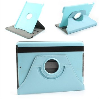 Image of   Apple iPad Air Rotating Smart Cover Stand - Lys Blå