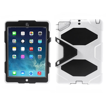 Image of Anti-Rain Heavy Duty Case Til Apple iPad Air - Hvid