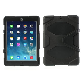 Billede af Anti-Rain Heavy Duty Case Til Apple iPad Air - Sort