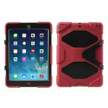 Billede af Anti-Rain Heavy Duty Case Til Apple iPad Air - Rød