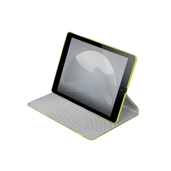 Image of   Apple iPad Air SwitchEasy Canvas Folio Case - Lime