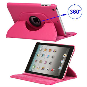 Billede af inCover Rotating Smart Cover Stand til iPad Mini - rosa