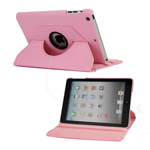 Billede af inCover Rotating Smart Cover Stand til iPad Mini - pink
