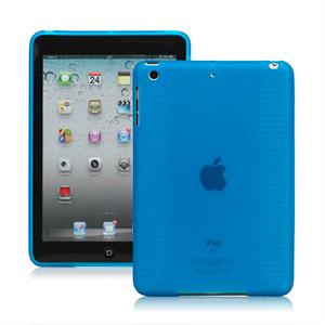 Billede af Apple iPad Mini TPU cover fra inCover - lyseblå